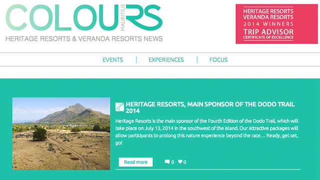 News from Heritage Resorts & Veranda Resorts